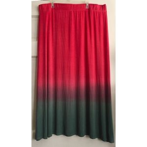 Pure Energy Skirts - Dip Dyed Maxi Skirt